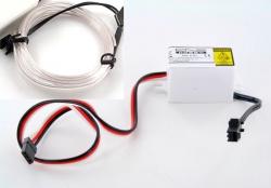 LK-0029WT LED-Leuchtschnur Tuning Set weiß 31740