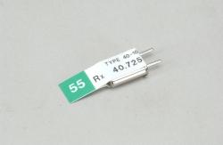 Futaba Kan. 55 (40.725MHz)FM Empf Quarz DS Futaba P-CR40/72DC