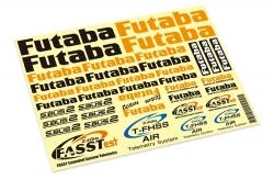 Futaba FUTABA Dekorbogen AIR Futaba P-FUTDEC-AIR
