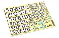 Futaba FUTABA Dekorbogen CAR Futaba P-FUTDEC-CAR