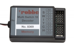 Multi-Switch 16 Decoder Robbe P-MSD8369