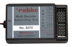 Multi-Switch-Prop 12+2 Decoder Robbe P-MSPD8370