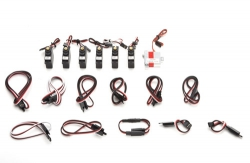 Quartz Servo/Kabel Set f. Mini Xcalibur ripmax P-QZMX