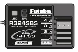 Futaba FUTABA R324SBS 2,4 GHz T-FHSS Futaba P-R324SBS