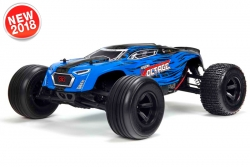 Arrma - Fazon Voltage 2WD 1/10 Monster Truck RTR - 18650 Li-Ion (2x) - AC-Charger - Blue / Black AR102664 Hobbico
