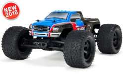 Arrma - Granite Voltage 2WD 1/10 Monster Truck RTR - 18650 Li-Ion (2x) - AC-Charger - Blue / Black AR102674 Hobbico