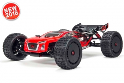Arrma - Talion 6S BLX 4WD - 1/8 Truggy RTR - no batteries, no charger - Red / Black AR106030 Hobbico