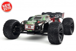 Arrma - Kraton 6S BLX 4WD - 1/8 Monster Truck RTR - no batteries, no charger - Green / Black AR106031 Hobbico