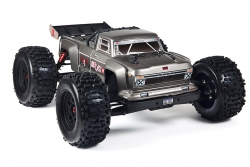 Arrma - Outcast 6S BLX 4WD Silver - 1/8 Monster Truck RTR - no batteries, no charger AR106032 Hobbico