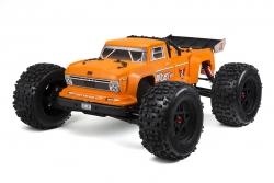 Arrma - Outcast 6S BLX 4WD Orange - 1/8 Monster Truck RTR - no batteries, no charger AR106033 Hobbico