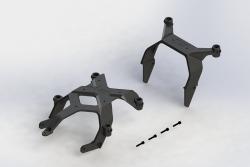 Karosseriehalter Set, vorne & Hobbico AR320361