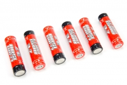 Arrma - Li-Ion INR18650 3.7V 1500mAh Battery (6) AR390261 Hobbico