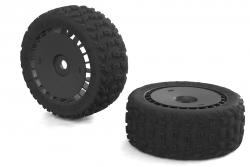 Arrma - DBOOTS KATAR T 6S TIRE SET GLUED (BLACK) (2pcs) AR550048 Hobbico