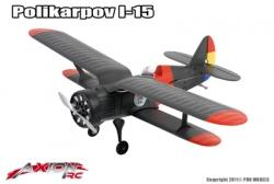 Axion RC - I-15 Polikarpov, BNF (Bind + Fly) AX-00125-02 Hobbico
