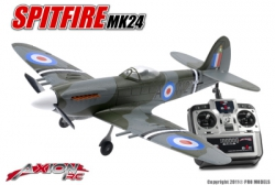 Axion RC - Spitfire, RTF 2.4gHz Mode 1 AX-00135-01M1 Hobbico