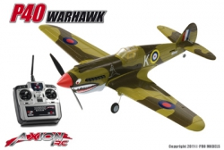Axion RC - P40 Warhawk, RTF 2.4gHz Mode 2 AX-00155-01M2 Hobbico