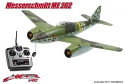 ME-262 MESSERSCHMITT, RTF 2.4GHz MODE 1 AX-00165-01M1 Hobbico
