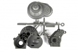 Axial - LCX Transmission Case (Silver) AX31531 Hobbico