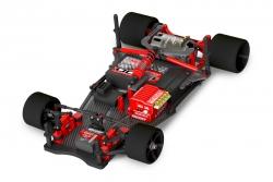 Team Corally - SSX-12 Car Kit - Chassis ohne Elektronik, Motor, Karosserie, Reifen C-00100