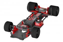 Team Corally - SSX-10 Car Kit - Chassis ohne Elektronik, Motor, Karosserie, Reifen C-00110