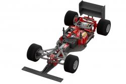 Team Corally - FSX-10 Car Kit - Chassis ohne Elektronik, Motor, Karosserie, Reifen C-00120