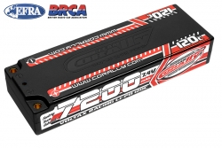 Team Corally - Voltax 120C LiPo Battery - 7200mAh - 7.4V - Stick 2S -  4mm Bullit C-49520