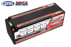 Team Corally - Voltax 120C LiPo Battery - 6500mAh - 14.8V - Stick 4S - 5mm Bullit C-49530