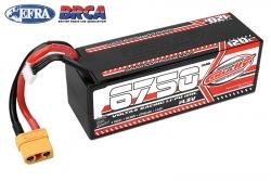 Team Corally - Voltax 120C LiPo Battery - 6750mAh - 14.8V - Stick 4S - Hard Wire - XT90 C-49531