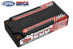 Team Corally - Voltax 120C LiPo HV Battery - 4200 mAh - 7.6V - LCG Shorty 2S - 4mm Bullit C-49600