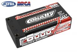 Team Corally - Voltax 120C LiPo HV Battery - 6000 mAh - 7.6V - Shorty 2S - 4mm Bullit C-49606