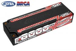 Team Corally - Voltax 120C LiPo HV Battery - 8000 mAh - 7.6V - Stick 2S -  4mm Bullit C-49623