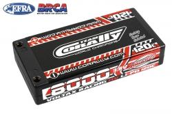 Team Corally - Voltax 120C LiPo HV Battery - 8000 mAh - 3.8V - 1S Hardcase - 4mm Bullit C-49635