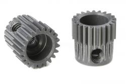 Team Corally - 64 DP Motorritzel - Hard Eloxiert AL7075 - 21 Zähne - Welle 3.17mm C-70321