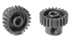 Team Corally - 48 DP Motorritzel - Hard Eloxiert AL7075 - 21 Zähne - Welle 3.17mm C-70421