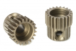 Team Corally - 64 DP Motorritzel - Stahl gehärtet - 21 Zähne - Welle 3.17mm C-71321
