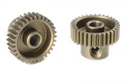 Team Corally - 64 DP Motorritzel - Stahl gehärtet - 32 Zähne - Welle 3.17mm C-71332