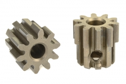 Team Corally - 32 DP Motorritzel - Stahl gehärtet - 10 Zähne - Welle 3.17mm C-71510