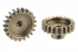 Team Corally - 32 DP Motorritzel - Stahl gehärtet - 21 Zähne - Welle 3.17mm C-71521