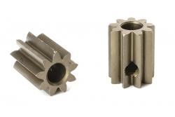 Team Corally - M0.6 Motorritzel - Stahl gehärtet - 9 Zähne - Welle 3.17mm C-71609