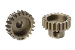 Team Corally - M0.6 Motorritzel - Stahl gehärtet - 21 Zähne - Welle 3.17mm C-71621
