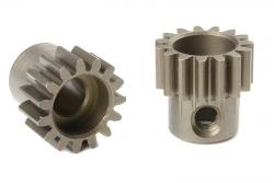 Team Corally - 32 DP Motorritzel - Stahl gehärtet - 15 Zähne - Welle 5mm C-72515