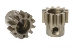 Team Corally - M1.0 Motorritzel - Stahl gehärtet - 12 Zähne - Welle 5mm C-72712