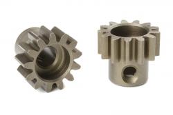 Team Corally - M1.0 Motorritzel - Stahl gehärtet - 13 Zähne - Welle 5mm C-72713
