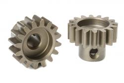 Team Corally - M1.0 Motorritzel - Stahl gehärtet - 16 Zähne - Welle 5mm C-72716