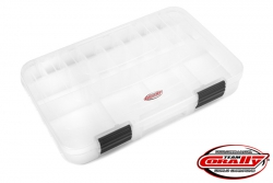 Team Corally - Sortimentsbox - Gross - 3-21 Verstellbare Fächer - 364x248x50mm C-90255