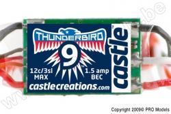 Castle - Thunder Bird 9 - Brushless Sport Flugregler - 2-3S - 9A - Bec CC-010-0057-00
