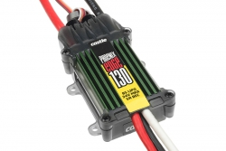 Castle - Phoenix Edge 130 - Hochleistungs Brushless Flug und Heli Regler - Datenspeicher - Telemetrie fähig - Aux. Kabel - 2-8S - 130A - 5A SBec CC-0