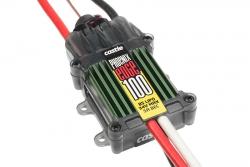 Castle - Phoenix Edge 100 - Hochleistungs Brushless Flug und Heli Regler - Datenspeicher - Telemetrie fähig - Aux. Kabel - 2-8S - 100A - 5A SBec CC-0