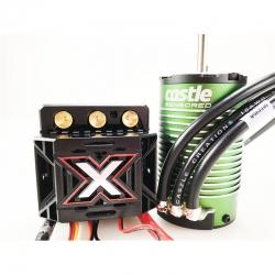 Castle - Mamba Monster X - Combo - 1-8 Extreme Brushless Car Regler mit 1515-2200 Sensored Motor CC-010-0145-03