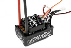 Castle - Mamba X - 1-10 Extreme Brushless Car Regler - Waterproof - Datenspeicher - Telemetrie fähig - 2-6S - Hochleistungs SBec - Sensored-Sensorles